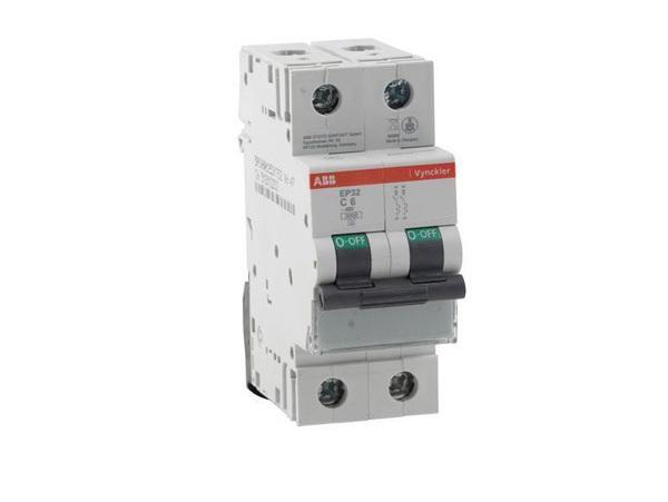 Automaat 2 polig 16A ABB Vynckier