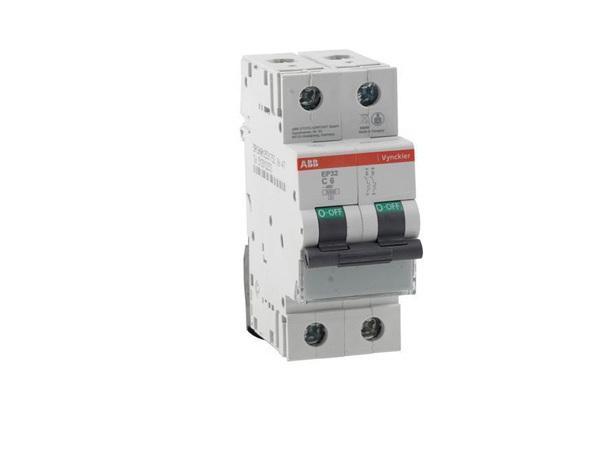 Automaat 2 polig 20A ABB Vynckier